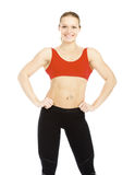 Pretty Fitness Instructor Royalty Free Stock Photos