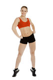 Pretty fitness instructor Stock Photography