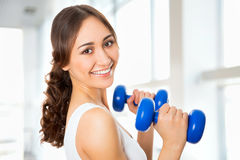 Pretty fitness woman Stock Photography