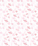 Pretty floral background. Pretty pink seamless pattern with leaves and flowers Royalty Free Stock Images