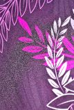 pretty floral fabric abstract pattern texture background Royalty Free Stock Images