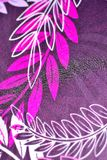 pretty floral fabric abstract pattern texture background Royalty Free Stock Photos