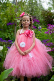 Pretty flower girl. Royalty Free Stock Photos