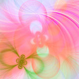 Pretty fractal background Royalty Free Stock Photo
