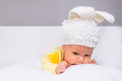 Pretty and funny baby Royalty Free Stock Image
