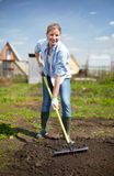 Pretty gardener Royalty Free Stock Photography