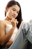 Pretty girl Stock Images