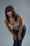Pretty girl. This picture represents a pretty Latin Girl Royalty Free Stock Images