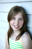 Pretty Girl. Image of a pretty preteen girl looking at the viewer Royalty Free Stock Images