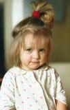 Pretty girl. A little girl portrait stock image