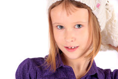 The pretty girl Royalty Free Stock Photo