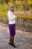 Pretty girl Stock Photos