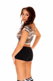 Pretty girl from back. Royalty Free Stock Image