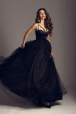 Pretty girl in ball gown Royalty Free Stock Photos