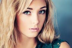 Pretty Girl. Beautiful Face stock photo