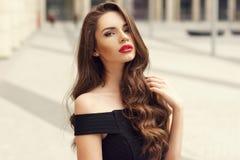 Pretty girl beauty portrait Stock Photography