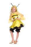 Pretty girl with in the bee dress Stock Photo