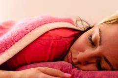 Pretty girl dreaming Royalty Free Stock Photo