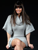 Pretty girl with fringe_2 Stock Images