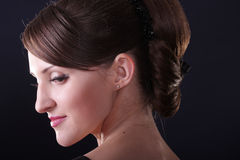 Pretty girl head Royalty Free Stock Photo