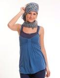 Pretty girl with headscarf Stock Photo