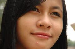 Pretty Girl Hoping Stock Photos