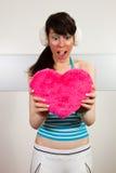 Pretty Girl In Love Stock Photos
