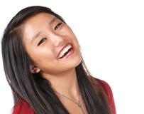 Pretty Girl Joy. Happy model expressing joy and enthusiasm Stock Images