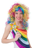 Pretty girl with lollypops Royalty Free Stock Photo