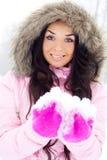 Pretty girl outdoor Stock Photo