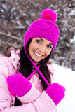 Pretty girl outdoor Royalty Free Stock Photography