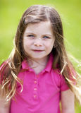 Pretty girl outdoor portrait Royalty Free Stock Photo