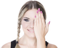 Pretty girl portrait Royalty Free Stock Images