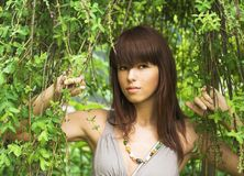 Pretty girl portrait Stock Image