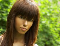 Pretty girl portrait Stock Images