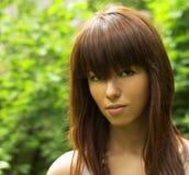 Pretty girl portrait Stock Photography