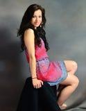 Pretty Girl Posing III Stock Photos