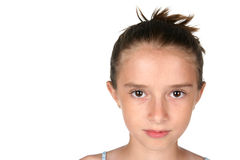 Pretty girl's face Royalty Free Stock Images