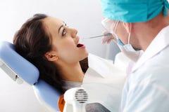 Dental examination Royalty Free Stock Photo