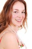 Pretty girl smiling. Stock Image