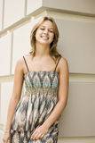 Pretty girl smiling Stock Photography