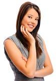 Pretty girl strikes a pose Royalty Free Stock Image