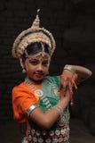 Pretty girl in traditional costume Stock Photo