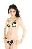 Pretty Girl Wearing Bikini Royalty Free Stock Photos