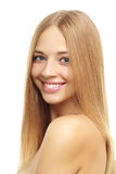 Pretty Girl With Long Hair Royalty Free Stock Photo