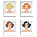 Pretty girls Royalty Free Stock Images