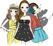 Pretty girls  Stock Photo
