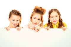 Pretty girls Stock Image