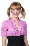 Pretty glasses stock image