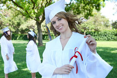 Pretty Graduation Woman Royalty Free Stock Images